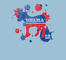 Obama 2012 Paint Shirt Unisex T-Shirt