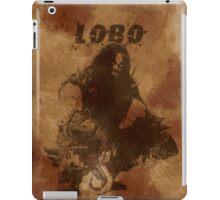 Lobo Silhouette (w/ Full Background) iPad Case/Skin