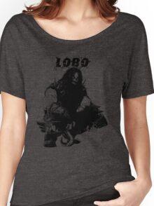 Lobo Silhouette Women's Relaxed Fit T-Shirt