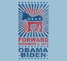 Obama Forward 2012 Shirt Kids Tee