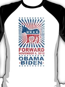 Obama Forward 2012 Shirt T-Shirt