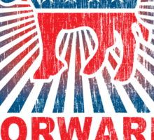 Obama Forward 2012 Shirt Sticker