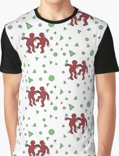 Keith Haring Inspired Graphic T-Shirt