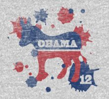 Obama 2012 Paint Women's Shirt by ObamaShirt