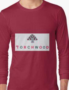 Christmas style Torchwood logo  Long Sleeve T-Shirt
