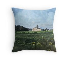 Castle Howard in Spring Throw Pillow
