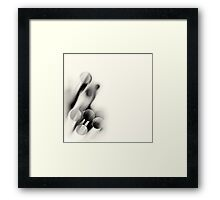 Cut Lifelines... (square) Framed Print