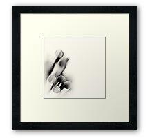 Cut Lifelines... (square) Framed Print