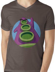 Take on the world! Mens V-Neck T-Shirt