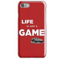 Life is just a game, ps4 camo pad popart 2 iPhone Case/Skin