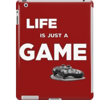 Life is just a game, ps4 camo pad popart 2 iPad Case/Skin