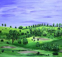 Green hills  by maggie326