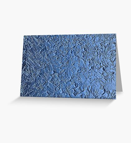 Blue abstract texture Greeting Card