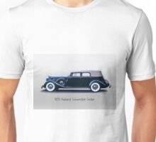 1935 Packard Convertible Sedan w Title Unisex T-Shirt