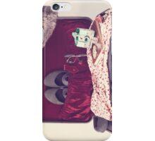 Vintage Suitcase  iPhone Case/Skin