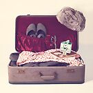 Vintage Suitcase  by Andreka