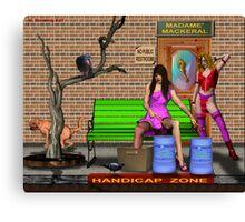 Rock N Roll Hoochie Coo Canvas Print