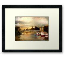 Lendal Bridge Framed Print