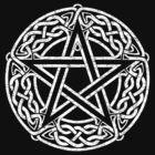Celtic Pentacle, Pentagram by chromedreaming