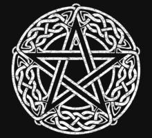 Celtic Pentacle, Pentagram by chromedreaming