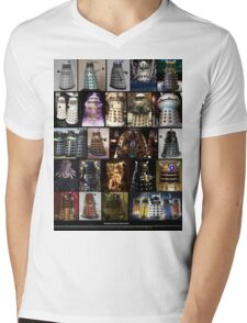 Dalek Variants Mens V-Neck T-Shirt