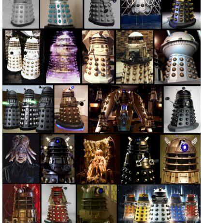 Dalek Variants Sticker