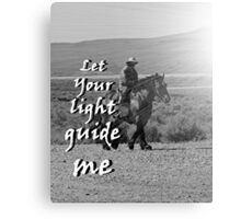 """Let Your light guide me"" by Carter L. Shepard Canvas Print"