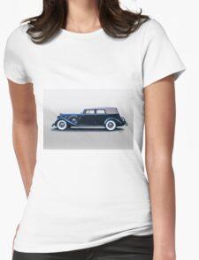 1935 Packard Convertible Sedan  Womens Fitted T-Shirt