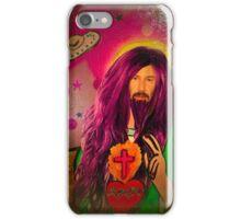 Keanu Jesus Antique Oil iPhone Case/Skin
