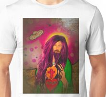 Keanu Jesus Antique Oil Unisex T-Shirt