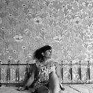 Jaw Boning- Self Portrait Abandoned Hotel, NY by MJD Photography  Portraits and Abandoned Ruins