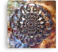 Cosmic Lens Flower II Canvas Print