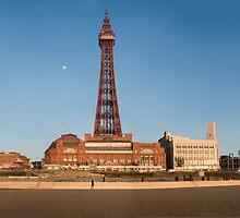 Blackpool Tower by Kate Astbury
