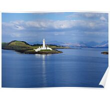 Eilean Musdile Lighthouse Poster