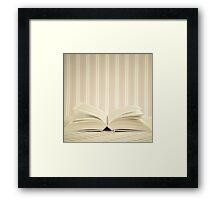 Magic Open Book  Framed Print