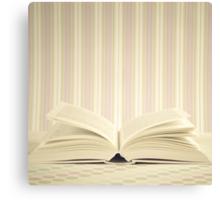 Magic Open Book  Canvas Print