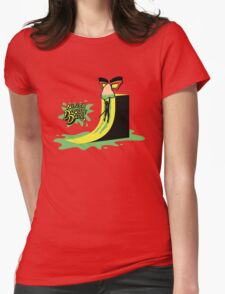 Ninja Double Dare Womens Fitted T-Shirt
