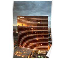 Las Vegas Strip Reflection Poster