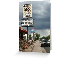 Seligman - Road Kill Cafe Route 66 Greeting Card