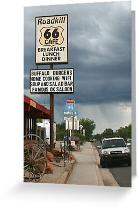 Seligman - Road Kill Cafe Route 66 by albyw