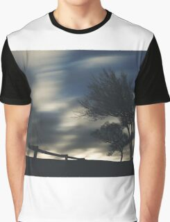 Trees & Clouds Graphic T-Shirt