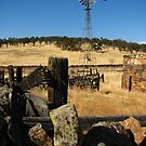 Abandoned Wind Mill and Farm, Telegraph City, CA 2012 by J.D. Grubb