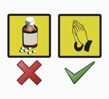 No medicine, only prayer by sugi007