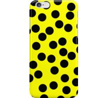Dotty Yellow iPhone Case/Skin