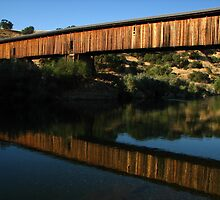 Old Reflection, Knight's Ferry, CA 2012 by J.D. Grubb