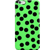 Dotty Green iPhone Case/Skin