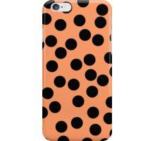 Dotty Peach iPhone Case/Skin