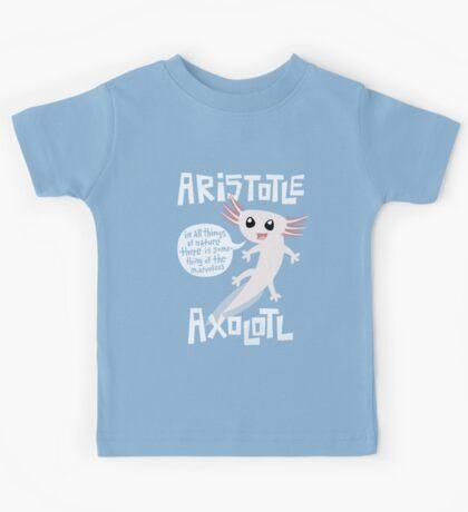 Aristotle Axolotl Kids Tee