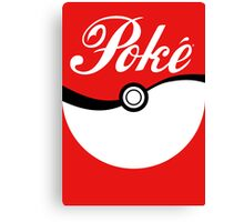 Poké [ball] Canvas Print