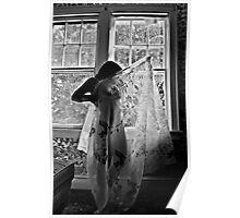 Image of Elation- Self Portrait- Abandoned Hotel, NY https://www.facebook.com/MJDPhoenixFoto  Poster